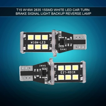 YOSOO Pair Universal Canbus T15 W16W 2835 White LED Car SignalLight Backup Lamp - intl