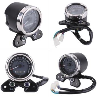 YOSOO Universal Motorcycle Odometer Speedometer Gear DigitalDisplay 9.5cm Mounting Hole - intl - 5