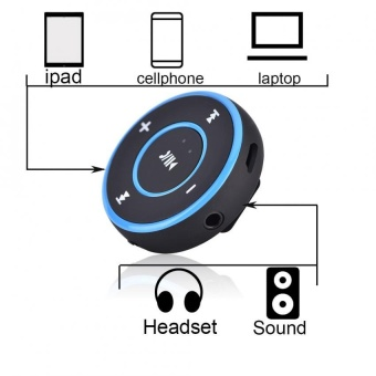 YOSOO Wireless Car Bluetooth 4.1 Receiver Stereo Music AudioAdapter Support Hands-Free Calling - intl