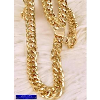 ZERHEA's Wheat Chain Mens Necklace 18k