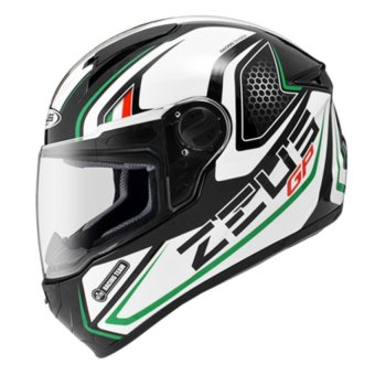 Zeus Full-Face ZS-811 Helmet (Black/AL3Green)