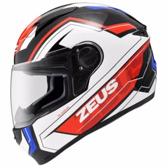 Zeus Full-Face ZS-811 Helmet (Black/AL5Blue)