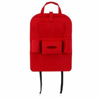 ZMB Portable Car Backseat Organizer (RED)