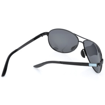 ZUNCLE UV 400 Protection Fashion Resin Lens Polarized Sunglasses - Black - picture 2
