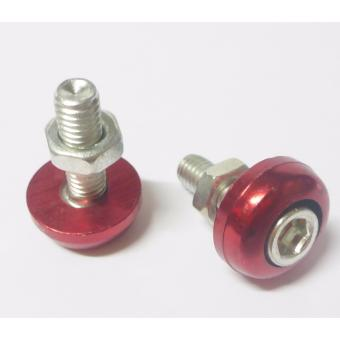 ZZ Racing Allen Bolt(6mm)Red 10pcs