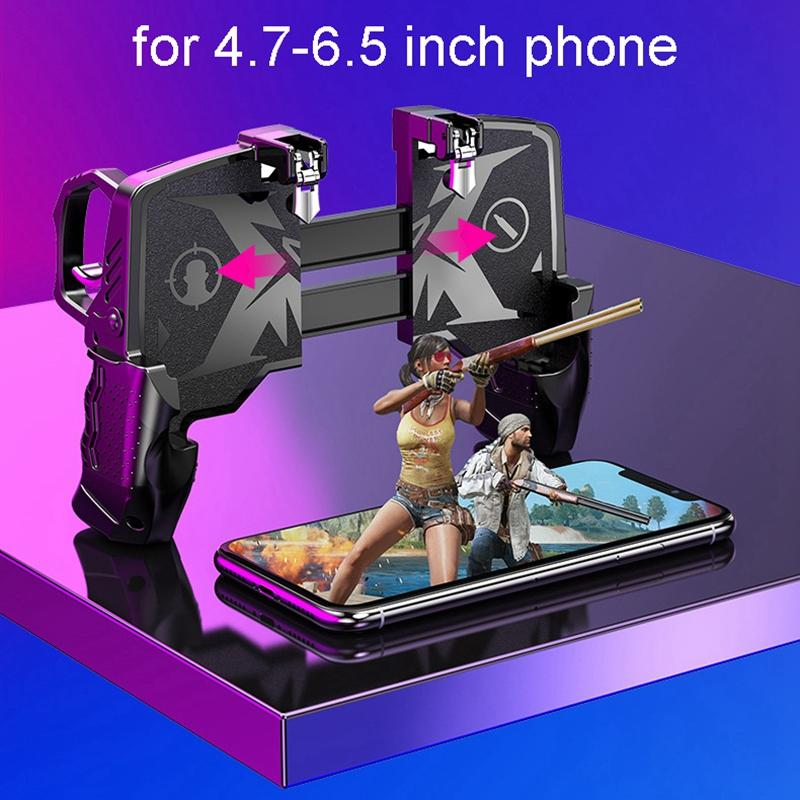 Mobile Game Controller Controller for PUBG Mobile Game Accessories L1R1 Handle Joystick Trigger