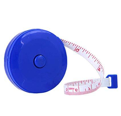 Love-Shaped Portable Retractable Body Measuring Ruler Sewing Cloth Tailor Tape