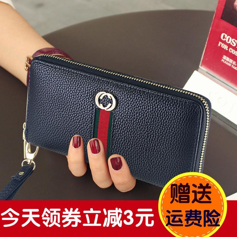 ... 2017 model baru dompet panjang wanita Kapasitas Besar multi-lapisan  dompet kartu tas ponsel dompet ... 55ca3195bf