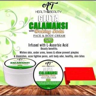 MJ SUGAR Gluta Calamansi Whitening Cream with Baking Soda SPF60