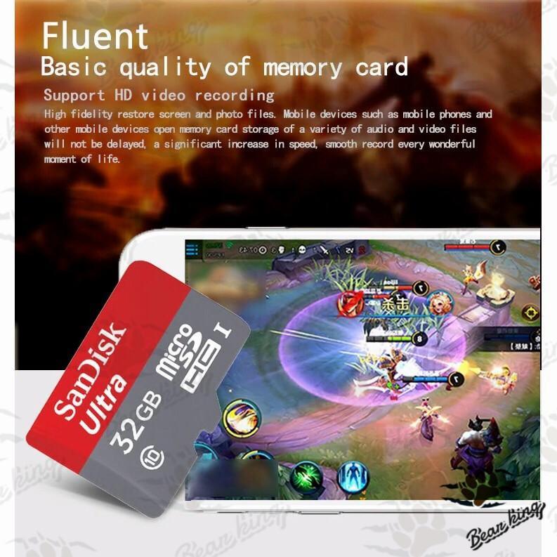 SanDisk 2//4//8//16//32//64//128gb ultra Extreme microSD SDHC SDXC Memory Card genuine