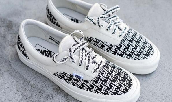 87b3355c Vnas Fear Of God FOG x Vans Era 95 Reissue Low help shoes for men nad women  shoes(F.O.G Essentials x Era) *JM