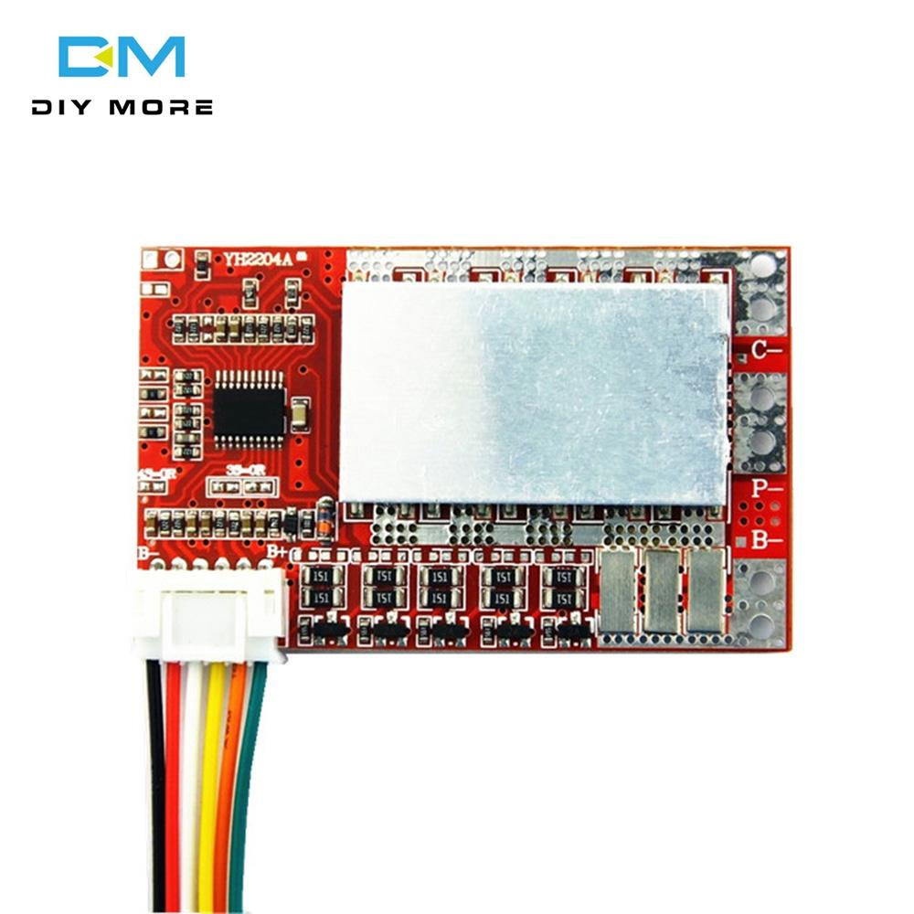Lithium Battery Protection Board,4S 50A Lithium Battery Protection Board 3.7V Li-ion Cell BMS PCB Board