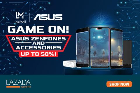 Up to 50% in ASUS Game On Sale!