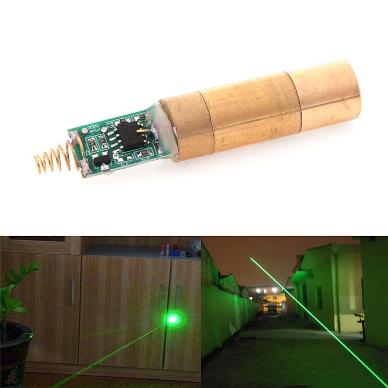 jjming YKS 532nm 30 ~ 50 MW Xanh Laser Mô Đun Diode Laser Ánh Sáng Miễn Phí Driver