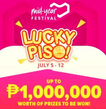 Mid Year Festival Sale LUCKY PISO